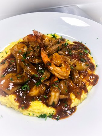 Italian Style Shrimp and Grits