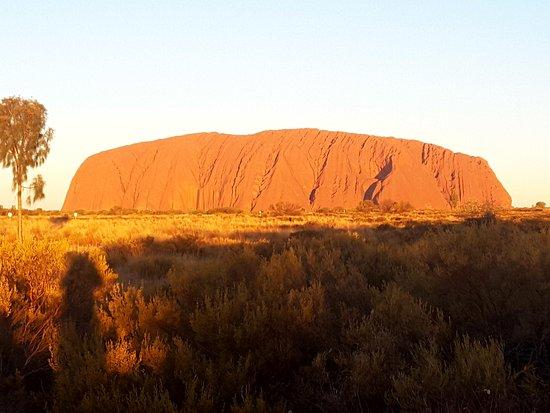 Ayers Rock Day Trip from Alice Springs Including Uluru, Kata Tjuta and Sunset BBQ Dinner: Taken around 5.30pm