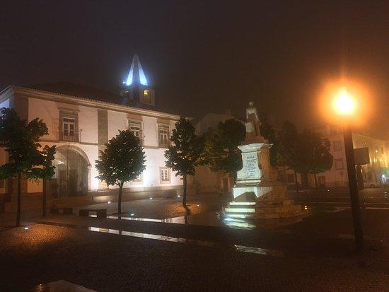 My first night in Castelo de Vide
