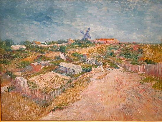 Vincent Van Gogh - Kitchen Gardens on Montmartre, 1887
