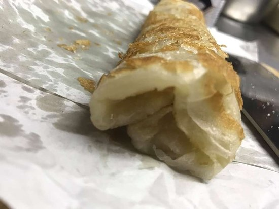 Ko Yao Noi, Ταϊλάνδη: Rolled roti with sugar or condensed milk