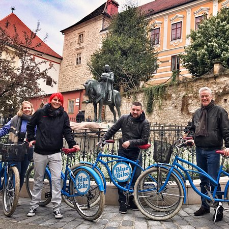 Blue Bike Zagreb bike tours- your best friend in Zagreb 💙