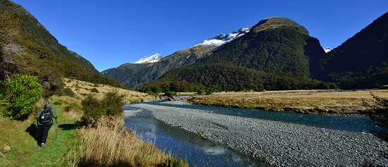 Makarora, Nowa Zelandia: Siberia Valley walk