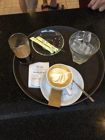 Ba Ria-Vung Tau Province, Vietnam: Đúng chất Cafe Ý mà chỉ có 49K, quá là ngon, bổ rẻ mà, hi hi