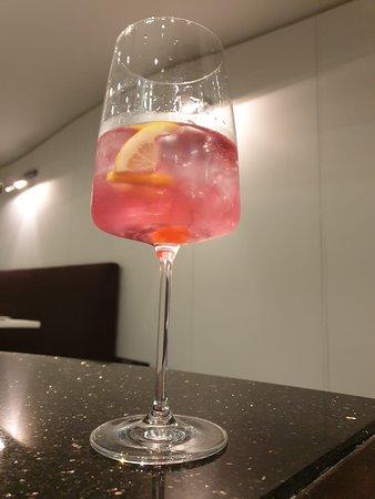Gin lindemans old kriek cuvée rené @leRossini