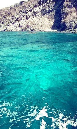 The Sea of Pantelleria, no filter needed