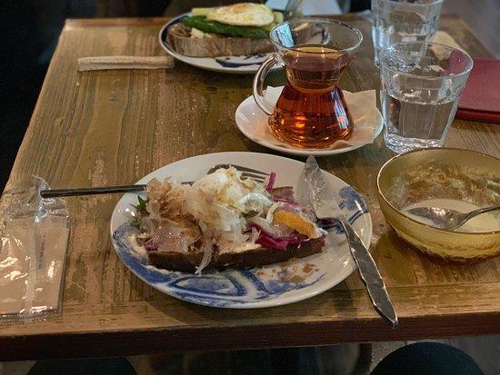 西京漬けのサンドウィッチ