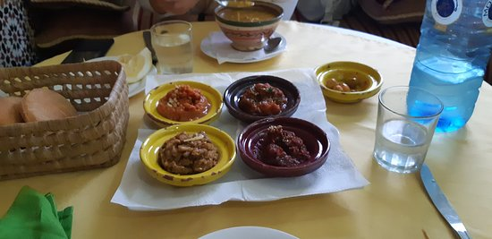 Le Riad Restaurant: Assortiment le Riad