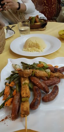 Le Riad Restaurant: Meat mix