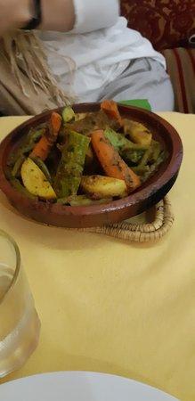 Le Riad Restaurant: Tagine Berbere