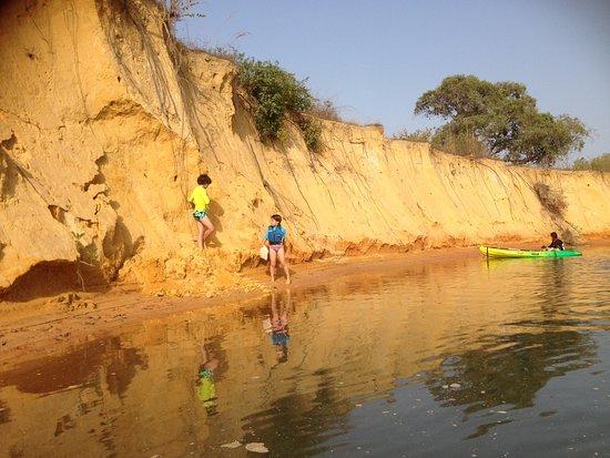 Casamance VTT: Balade en Kayak autour de l'ile d'Egueye