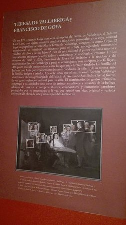 Información sobre el cuadro de Goya.