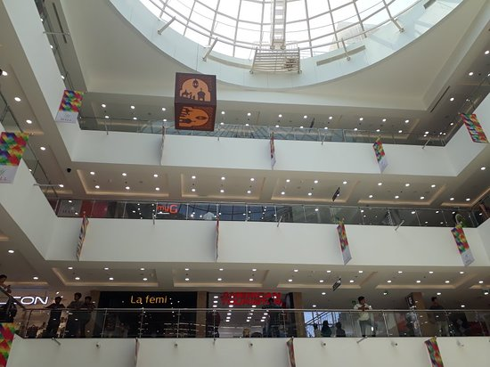 Thriprayar, India: Y Mall