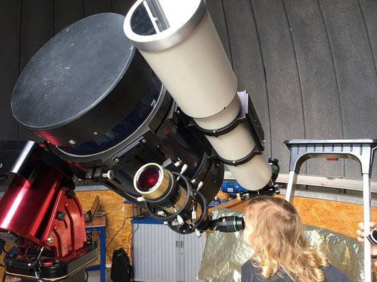Overveen, Nederland: ingesteld op de zon met een filter
