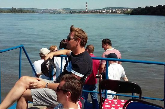 Belgrade boat cruising Sava and Danube rivers