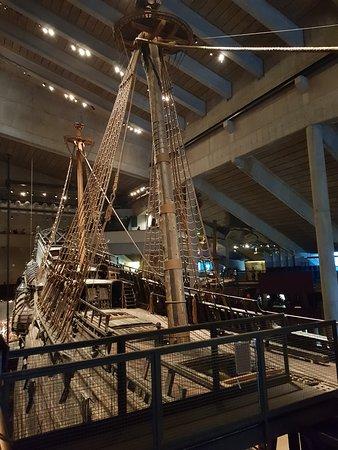 Vasa Museum: Палуба корабля