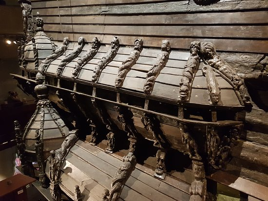 Vasa Museum: Деталь корабля