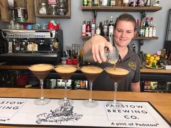 Espresso Martini's ahoy