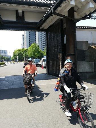東京獨家電動自行車之旅照片