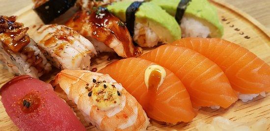 Lunch hos Saya Sushi