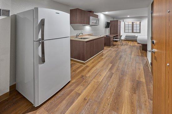 Extended Suites Saltillo Galerias: Suite con cocineta integrada