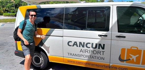 Happy Customer - Cancun Airport Transportation