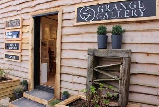 Wareham, UK: Grange Gallery and Café Grange