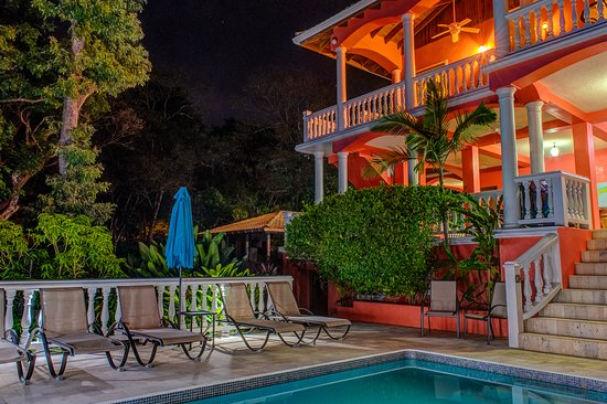 Anyone for night time swim? Or cool-down with a tropical cocktail?