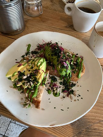 Avacado toast £7 delicious