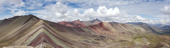 Rainbow Mountain Full-Day Tour from Cusco with Small Group: The view speaks for itself!