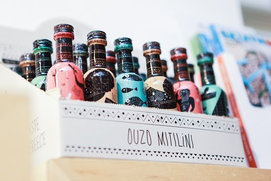 Nothing tastes better than an ouzo from Mitilini!