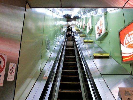 Enoshima Escalator