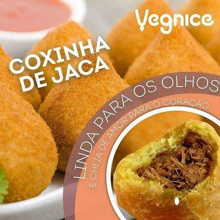 A pioneira Coxinha de Jaca @Vegnice