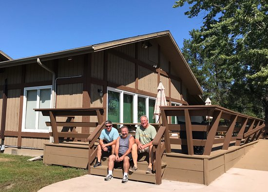 """Nekoosa, WI: Camelot on the Lake is an awesome spot! Great """"bar pizza,"""" popcorn, cold beverages, friendly people and a beautiful view of the lake!"""