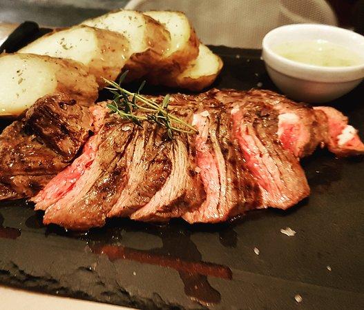 Beef hanger steak