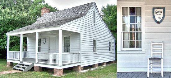 Μπόφορτ, Βόρεια Καρολίνα: Beaufort Historic Site - restored structures from different times