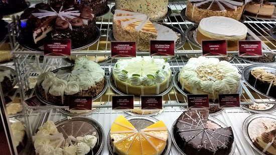 The Cheesecake Factory: #3 Cheesecake Case