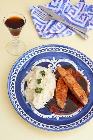 chicken with vinsanto