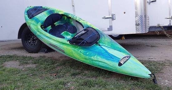 Vernon, كندا: Ed's Mobile Kayak Rental