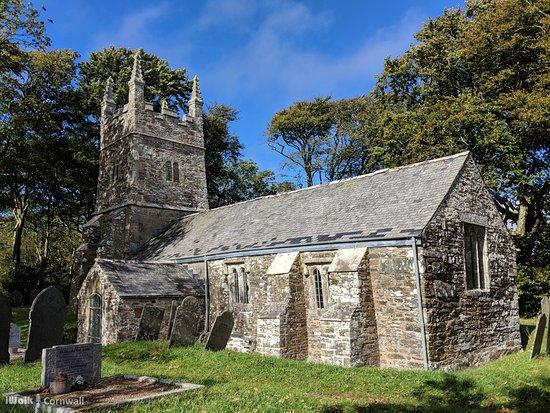 Launceston, UK: Tremaine church