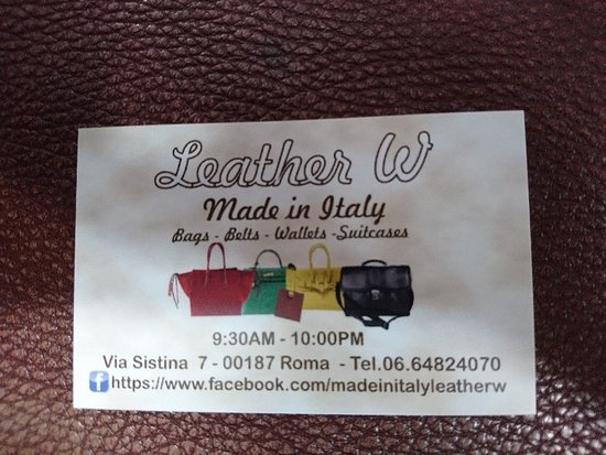 Leather W