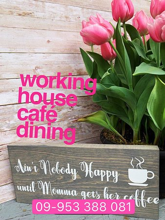 On Mother's Day, you can also bring your mother a cup of coffee!  This is the way to create simple and happy.   Enjoying happy Mother's Day !  Booking hotline : 09-953 388 081 Location:  No 13, A Shae Gone Street Sanchaung Township,Yangon #workinghousecafe