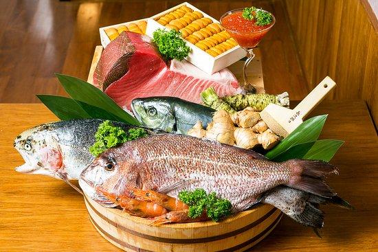 Japanese fresh fish