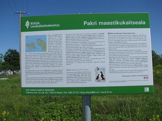 Pakri poolsaare matkarada