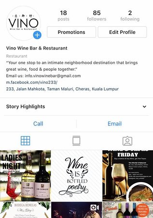 We are on #instagram too! 😍 Folow us: @vino_winebar   See you there 🍷
