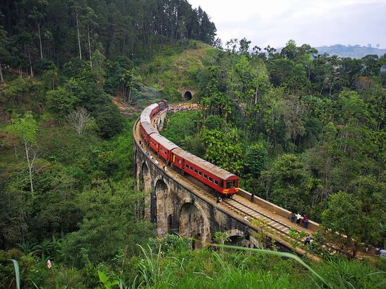 Demodara Nine Arch Bridge: It is located in Demodara, between Ella and Demodara railway stations. The surrounding area has seen a steady increase of tourism due to the bridge's architectural ingenuity and the profuse greenery in the nearby hillsides.