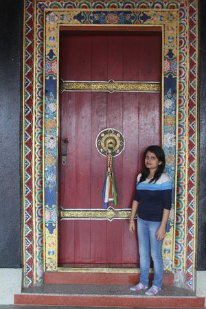 At Rumtek Monastery