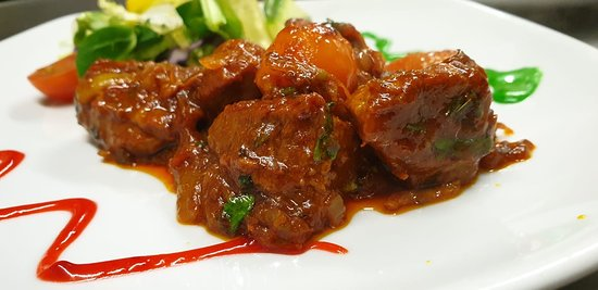 An EXOTIC and MOUTHWATERING dish named SHUKNA GOSHT!