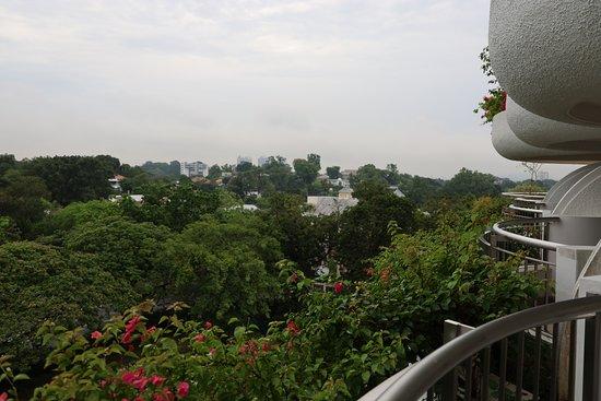Garden room, city view