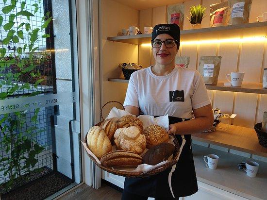 Todos os nossos pães são produzidos através do processo de fermentação natural!